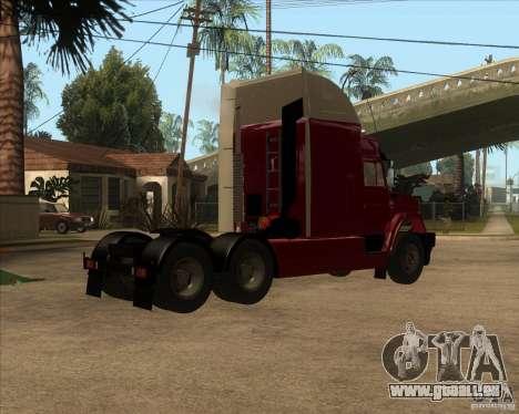 Super Zil v 2.0 pour GTA San Andreas vue de droite