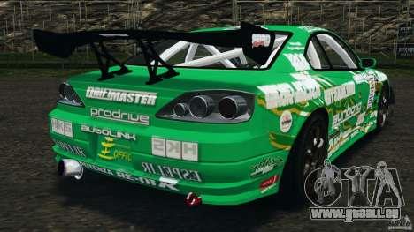 Nissan Silvia KeiOffice pour GTA 4 Vue arrière de la gauche