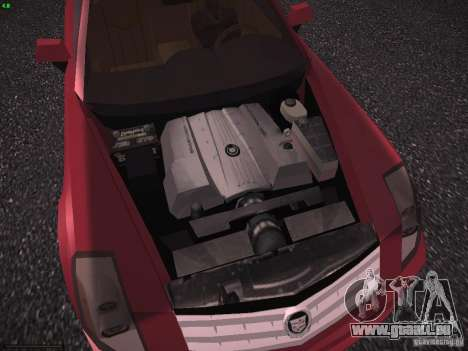 Cadillac XLR 2006 für GTA San Andreas Innenansicht