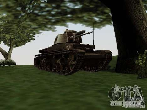 Pzkpfw-35t pour GTA San Andreas