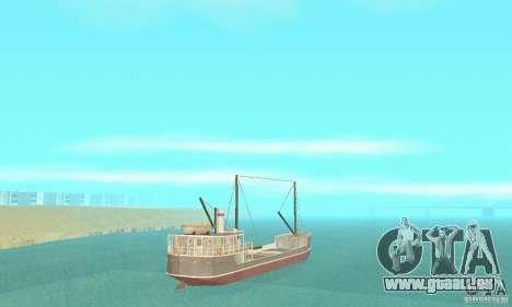 Steam Freighter pour GTA San Andreas laissé vue