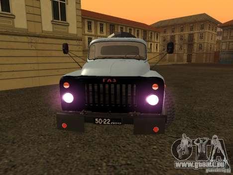 GAZ 53 Kit de finition pour GTA San Andreas vue de droite