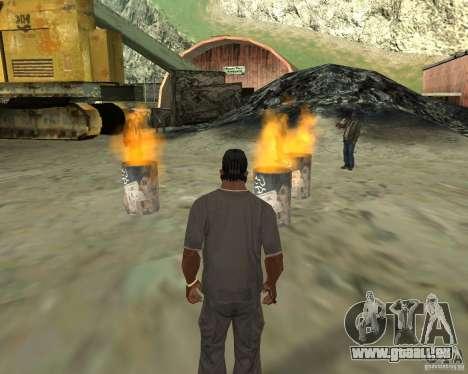 Barney Obdachlose für GTA San Andreas fünften Screenshot