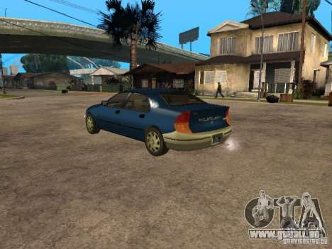 HD Kuruma für GTA San Andreas linke Ansicht