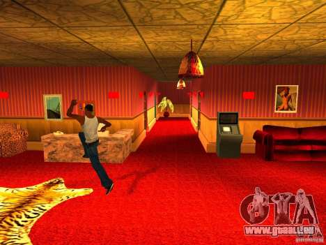 Bordell Cj v1. 0 für GTA San Andreas dritten Screenshot