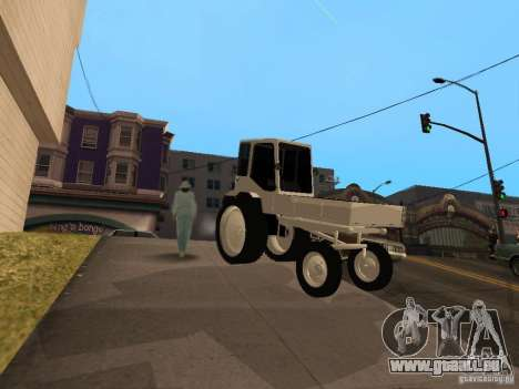 Traktor T16M für GTA San Andreas linke Ansicht