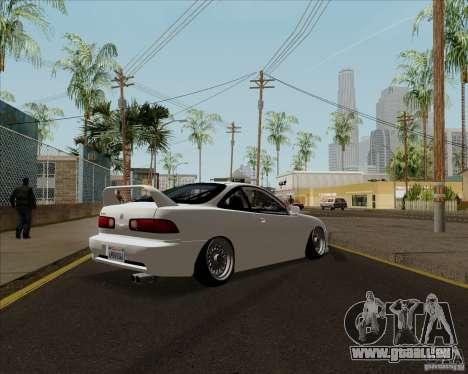 Acura Integra für GTA San Andreas zurück linke Ansicht