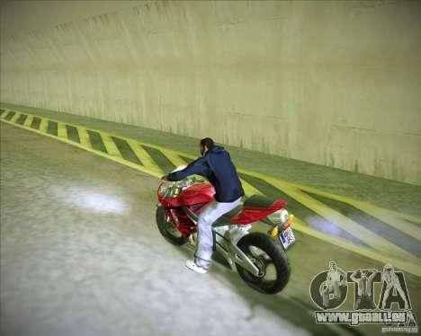 Honda CBR600RR 2005 für GTA San Andreas linke Ansicht