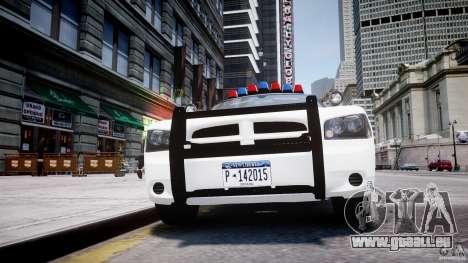 Dodge Charger FBI Police für GTA 4 Innen