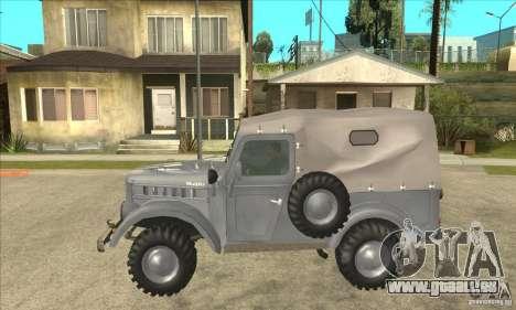 ARO M461 pour GTA San Andreas laissé vue