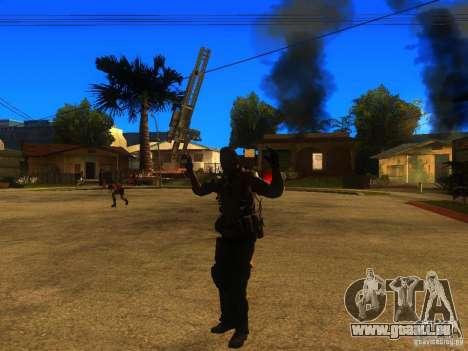 Animation Mod pour GTA San Andreas huitième écran