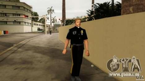 Neue Kleidung Bullen für GTA Vice City
