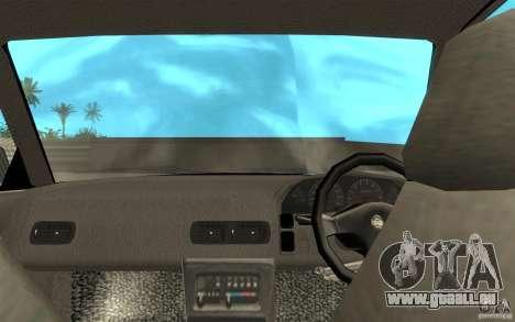 Nissan Silvia S13 pour GTA San Andreas vue de droite