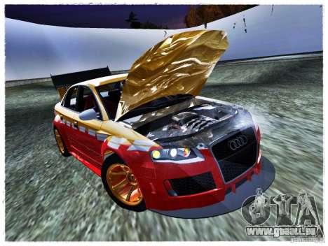 Audi RS4 Calibri-Ace pour GTA San Andreas vue de droite