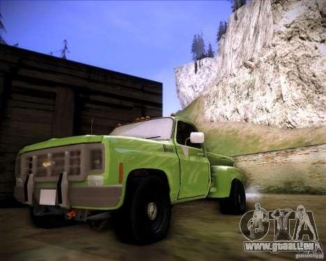 GMC 80 pour GTA San Andreas laissé vue