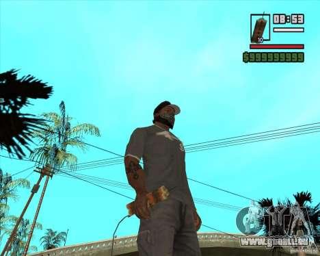 Call of Juarez Bound in Blood Weapon Pack pour GTA San Andreas cinquième écran