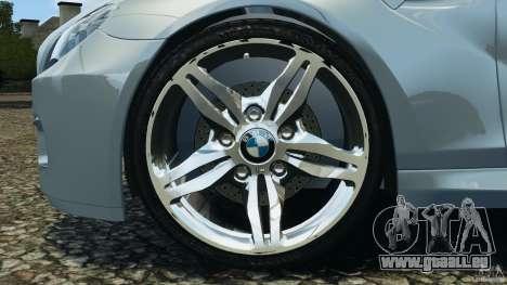 BMW M6 Coupe F12 2013 v1.0 pour GTA 4 Vue arrière
