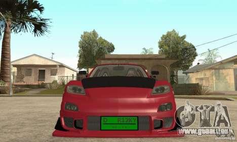 Mise en marche du moteur et les phares pour GTA San Andreas
