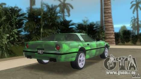 Reptilien banshee pour GTA Vice City sur la vue arrière gauche