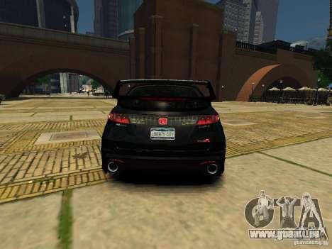 Honda Civic Type R Mugen pour GTA 4 Vue arrière de la gauche