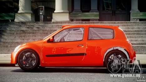 Renault Clio Sport für GTA 4 linke Ansicht