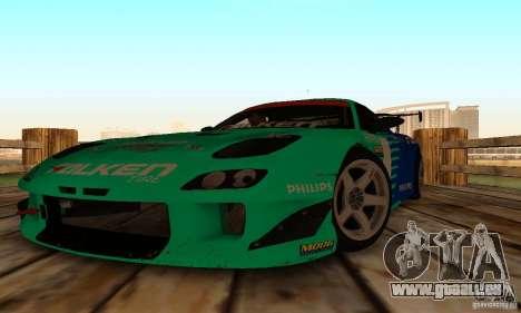 Mazda RX7 Falken edition pour GTA San Andreas vue arrière