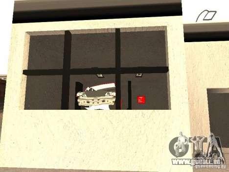 Garage de la GRC en fo pour GTA San Andreas cinquième écran