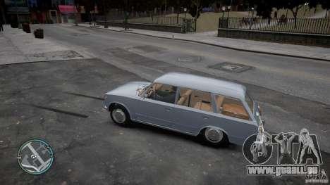 VAZ 2102 pour GTA 4 Vue arrière