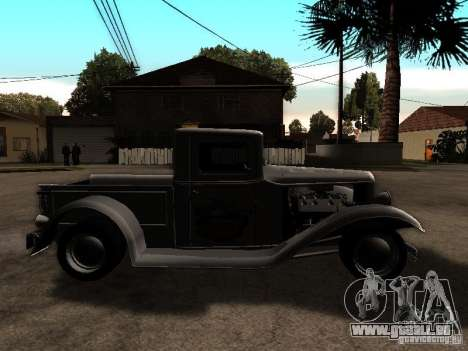 Ford Farmtruck für GTA San Andreas rechten Ansicht