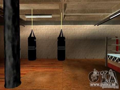 Nouveau sac de boxe boxe pour GTA San Andreas quatrième écran