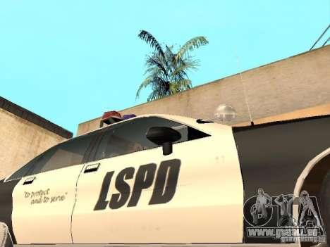 Chevrolet Caprice 1991 LSPD für GTA San Andreas Seitenansicht