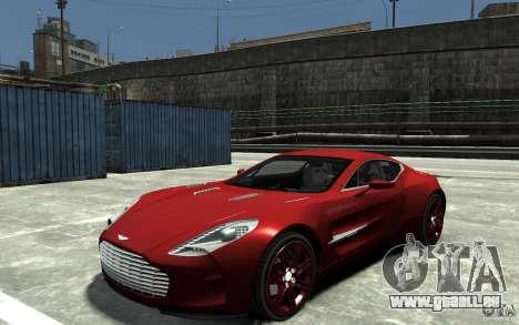 Aston Martin One 77 für GTA 4
