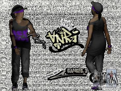 Ballas Gang pour GTA San Andreas quatrième écran