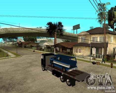 Peterbilt für GTA San Andreas linke Ansicht