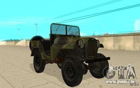 GAZ-64 Haut 2 für GTA San Andreas