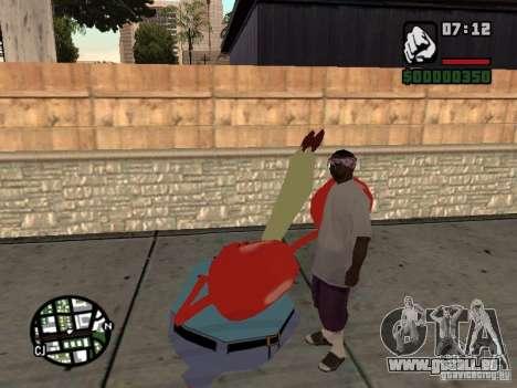 Mr. Krabs für GTA San Andreas siebten Screenshot