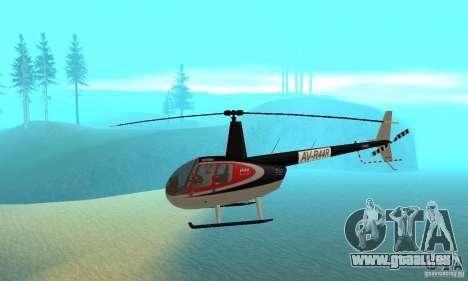 Robinson R44 Raven II NC 1.0 Haut 2 für GTA San Andreas