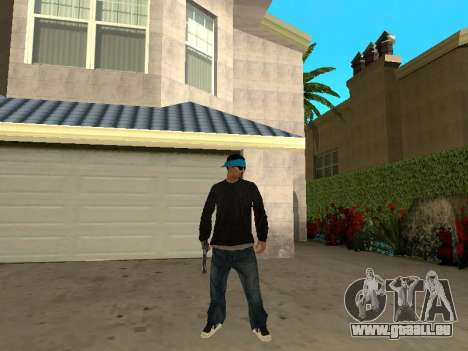 Black Rifa SkinPack pour GTA San Andreas troisième écran