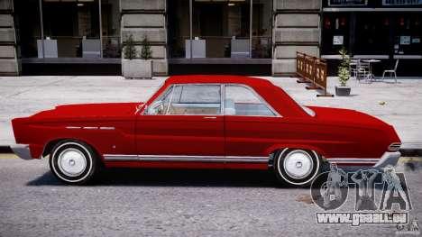 Ford Mercury Comet 1965 pour GTA 4 Vue arrière de la gauche
