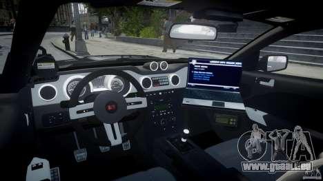 Saleen S281 Extreme Unmarked Police Car - v1.2 pour GTA 4 est un droit
