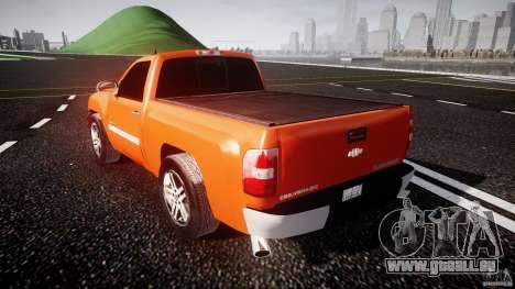 Chevrolet Silverado 2011 für GTA 4 hinten links Ansicht