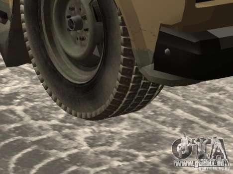 IZH 27175 édition hiver pour GTA San Andreas vue de droite