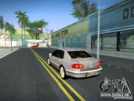 Volkswagen Phaeton W12 pour GTA San Andreas vue intérieure