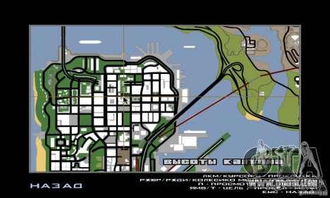 Rue combat v2 pour GTA San Andreas quatrième écran
