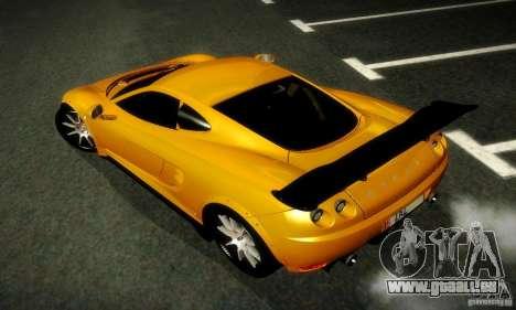 Ascari KZ1R Limited Edition für GTA San Andreas Rückansicht
