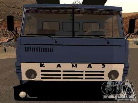 Camion KAMAZ pour GTA San Andreas vue de droite