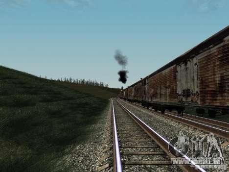 Refrežiratornyj wagon Dessau no 4 Rusty pour GTA San Andreas laissé vue