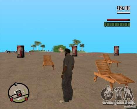 CJ-maire pour GTA San Andreas quatrième écran