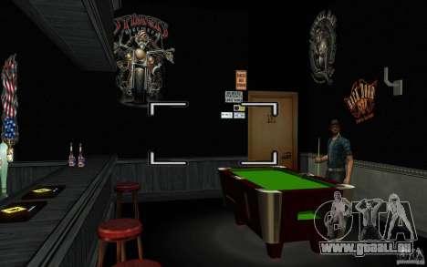 New Bar pour GTA San Andreas sixième écran