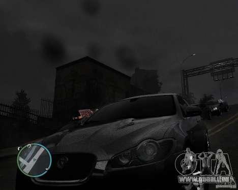 Jaguar XF-R pour GTA 4 Vue arrière de la gauche